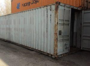40HC Морские контейнеры 40 футов high cube  (40НС 7336695)