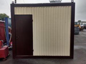 Блок-модульные душевые и мобильные туалеты (3 х 2.4 х 2.5 м)