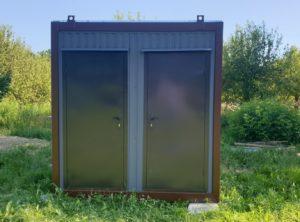 Сантехнический  туалетный модуль WC (2.2х2.2х2.5 м)