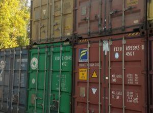 Аренда сухогрузного морского контейнера Киев