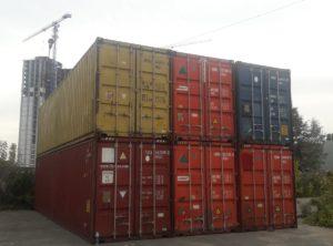 Контейнеры 40т High Cube — Большой ВЫБОР контейнеров 40ф