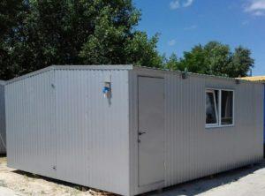Блокмодуль (6 х 4.8 м.) прорабская, офис, штабная