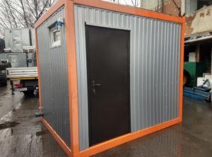 Санитарный блок (3х2.4х2.5 м) Продажа