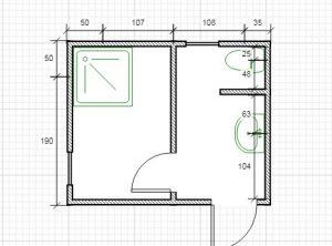 Санитарный блок (3х2.4х2.5 м)